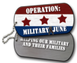 Shofner Vision Center Announces Operation Military June To Promote Awareness And Funds For Local Not-For-Profit Organizations Supporting Military And Their Families