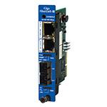 iMcV-Giga-FiberLinX-III Media Converter, , 10/100/1000Mbps copper to 1000Mbps fiber device