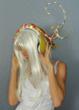 Headphone designed by fine artist and Velodyne President, Marta Thoma Hall.