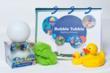 Plastic Bath book and Light Bubble Ball