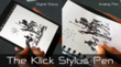 The Klick Stylus Pen Easily Transitions from Digital to Analog use with a Klick!