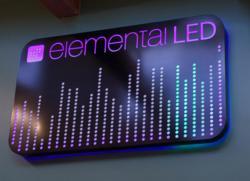Elemental LED Sign