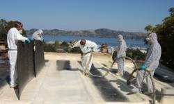Spray foam roofing contractor san francisco, Marin County, Sonoma County, Napa County, foam roof, Wedge Roofing, residential roofing, commercial roofing, industrial roofing, Title 24 roof