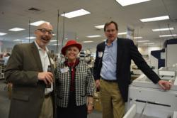 Open House guests included Murray Vetstein of Source4, Mary Redmond of Independent Lease Review (Fearless),