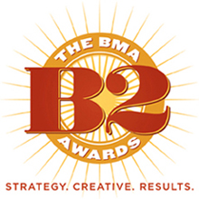 Business Marketing Association B2 Awards of Excellence Logo