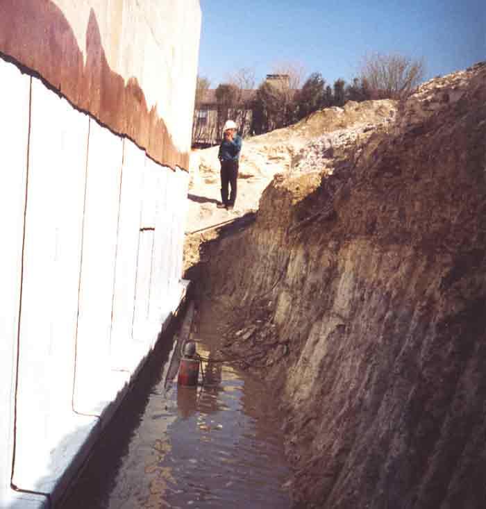 foundation waterproofing membrane moisture barrier foundation
