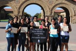 Students from US Territories at the Summer Progam at Stanford University