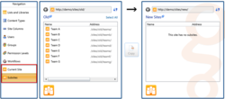 Migrate SharePoint Sites and Subsites