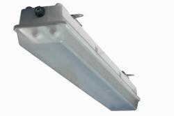 Hazardous Location Emergency Light Fixture with Battery Backup