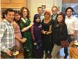Houston Community College International Initiatives students from Pakistan, Indonesia, Brazil, Turkey, and Costa Rica with their Coordinator