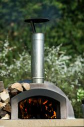 Mezzo 76 wood burning pizza oven