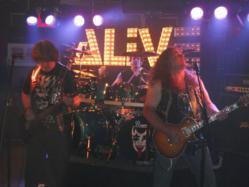 Musicians on stage AMC Music Festival