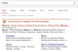 Search Engine Page Results Injection