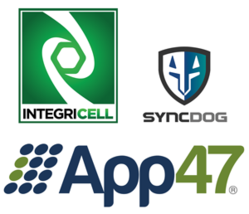 IntegriCell/App47 combo logo
