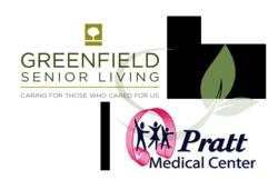 Greenfield Senior Living and Pratt Medical Center Logo
