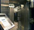 Dis-used bank vault on Leadenhall Street, City of London