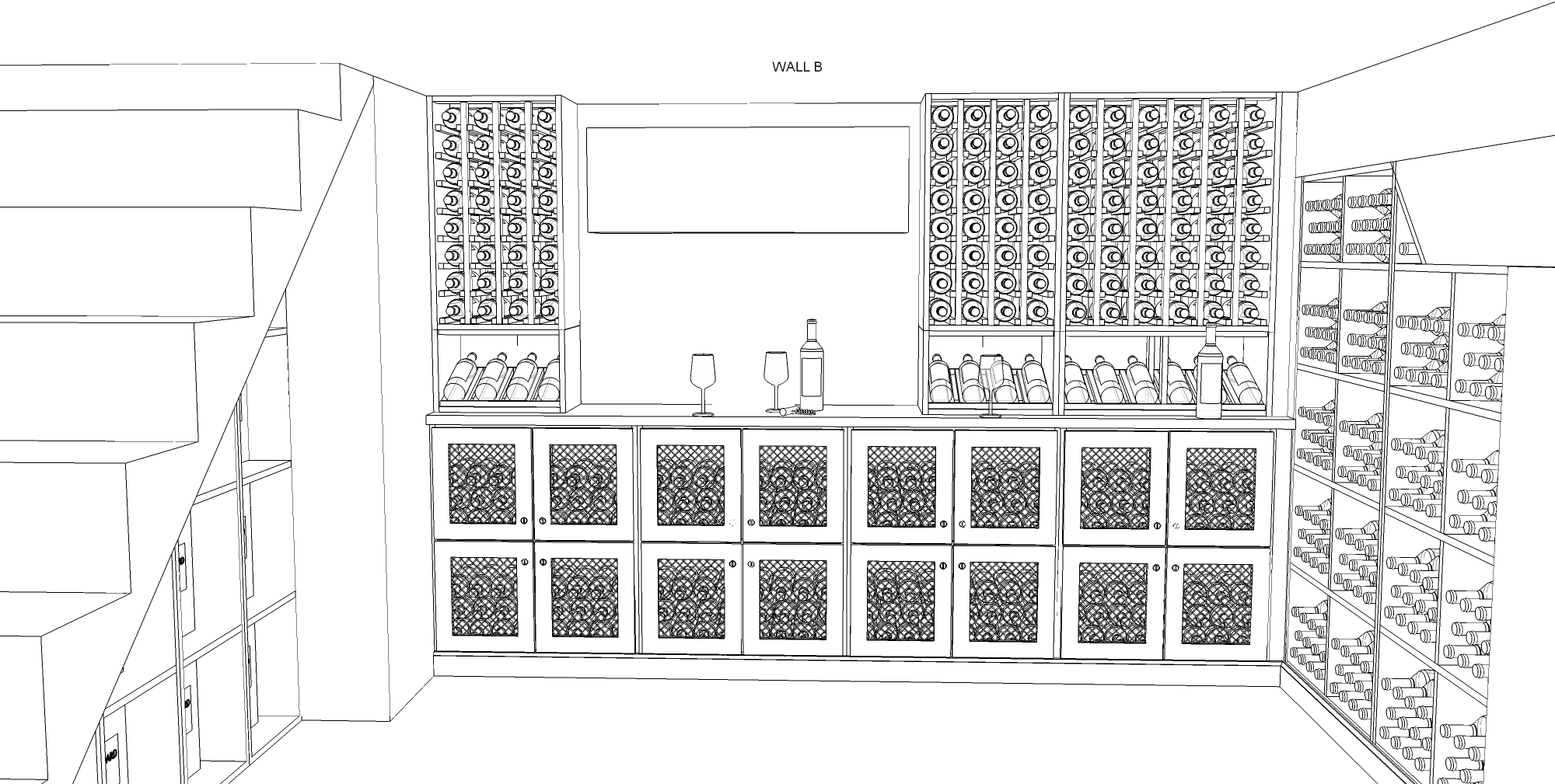 Kessick wine cellars designs and manufacturers a stunning for Wine cellar plans
