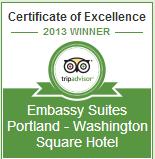 Embassy Suites Portland Washington Square Award