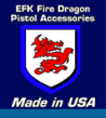 EFK Fire Dragon Now Offers 1911 Pistol Compensators