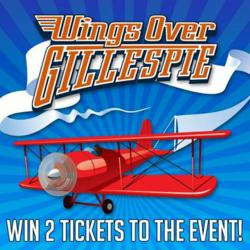 Win two tickets to Wings Over Gillespie, courtesy of Sunland RV Resorts.