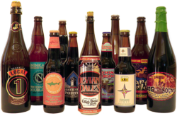 Sample craft beers available for BeerBoxer club members