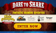 Dare to Share & Win a Dream Branson Vacation Sweepstakes