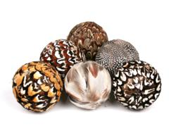 New Home Decor Feather Balls From Jodhpuri Inc