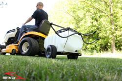 Brinly tow behind lawn and garden sprayer