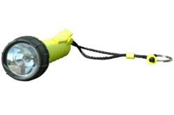 Proof Halogen Flashlight with Belt Clip