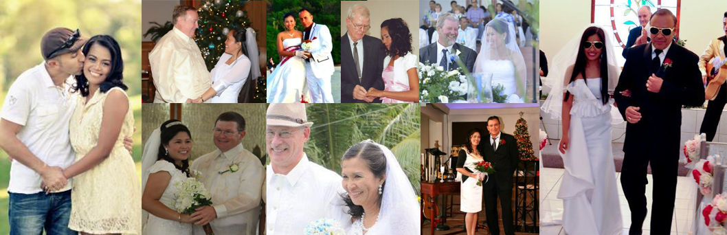 Just a Few of the Many Happy Couples Who Have Met at Christian FilipinaJust  a Few of the Many Happy Couples Who Have Met at Christian Filipina ...