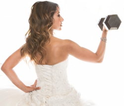 Level weddings events teams with huntington beach for Fitness depot wedding