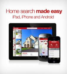 Property search mobile app