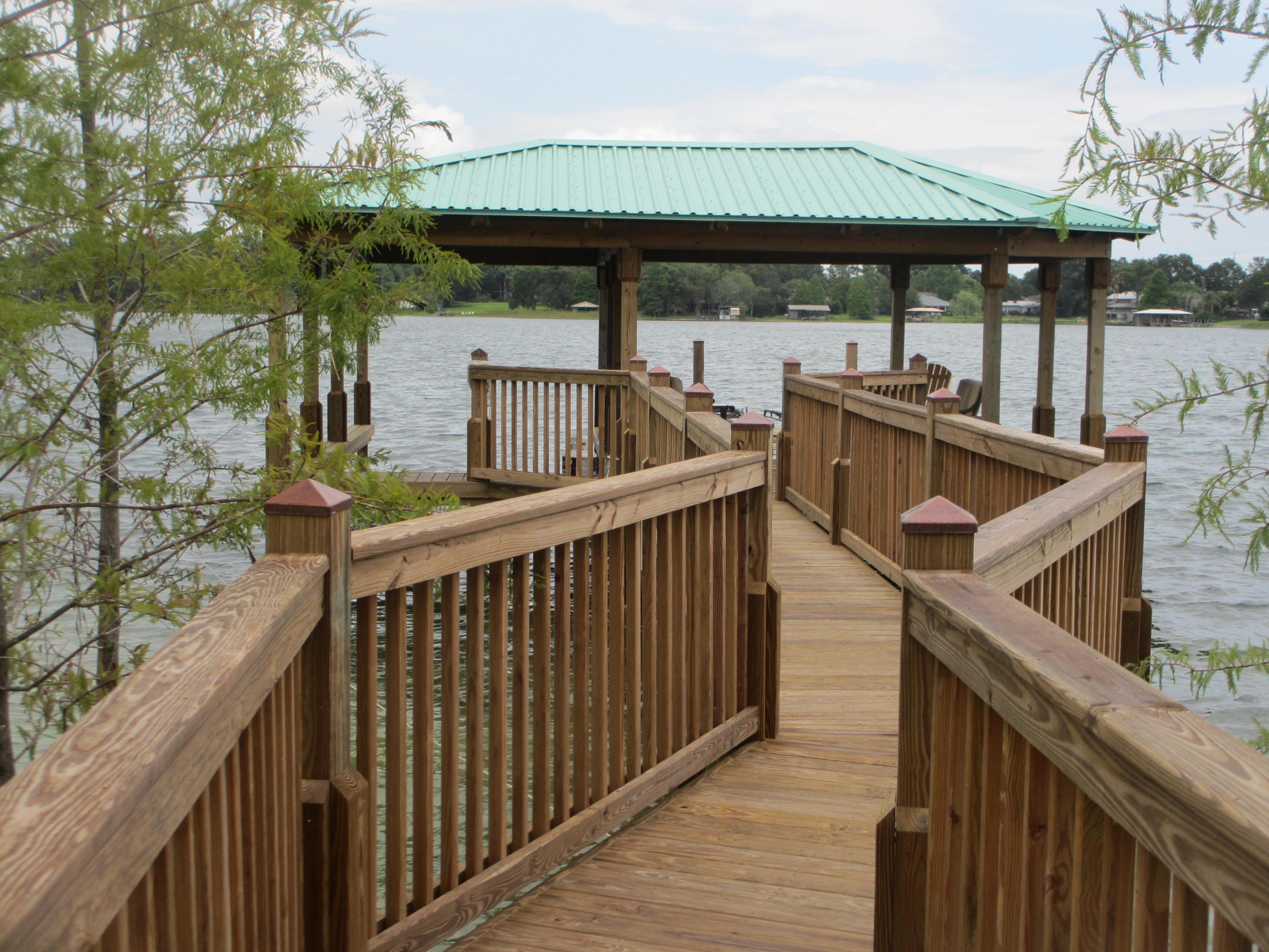 Orlando Boat Dock Builder Fender Marine Construction