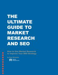 The Ultimate Guide to Market Research and SEO eBook Cover