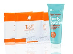 The perfect kit to obtain an amazing golden tan