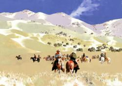 Western Art Painting, Cowboy and Western Art,