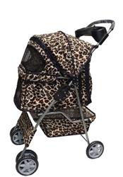 leopard-print-pet-stroller