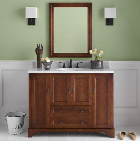 Introduces A Guide To Contemporary Shaker Style Bathroom Vanities