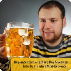 Kegerator.com - Father's Day Mini-Keg Giveaway