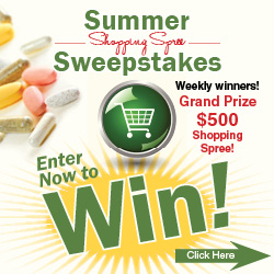 Botanic Choice Summer Shopping Spree Sweepstakes