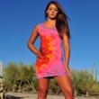 Organic cotton tank dress for women