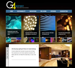 LED lamps applications are profiled in G4Report, including church, business and artist.
