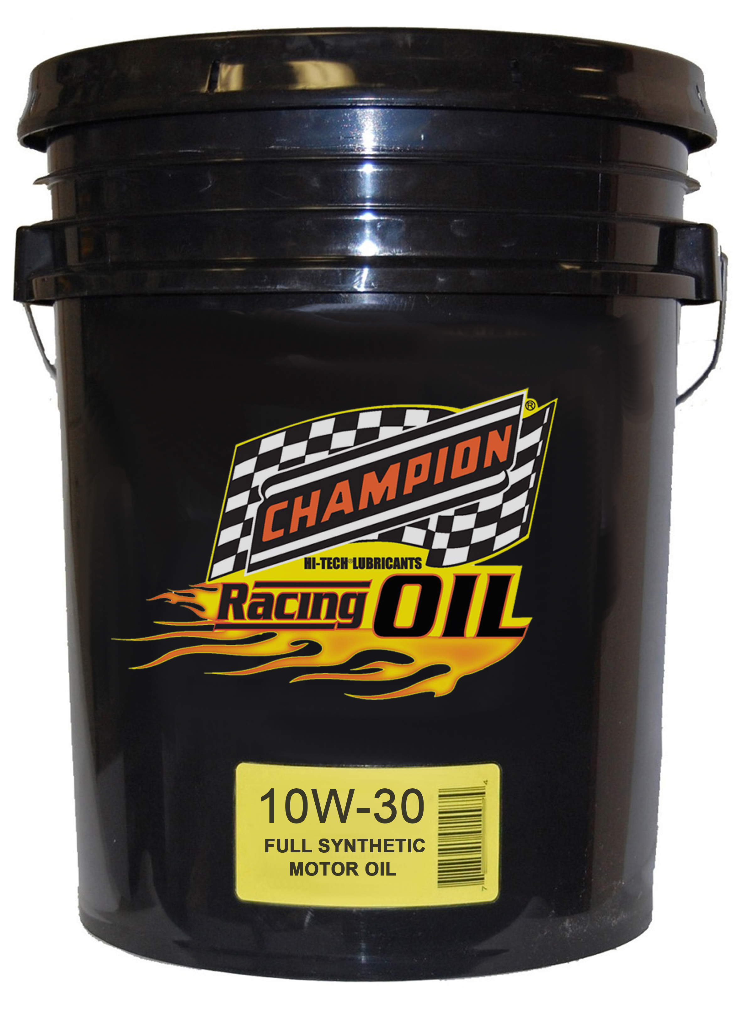 Champion announces new 10w 30 full synthetic racing motor oil for 10w 20 motor oil