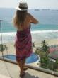 Treat Beauty Salted Vanilla Beach Hair Sea Salt Spray at the beach