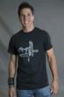 geeky graphic t-shirt Recalculating from Tees For Your Head