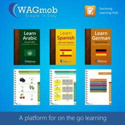 WAGmob eBooks at Samsung Learning Hub