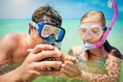 Snorkeling in Orange Beach, AL