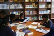 Christel House South Africa students studying in the library