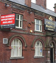 cattle market pub for sale another pub closes