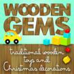 Wooden Gems Traditional Toys and Christmas Decorations